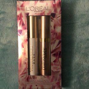L'oréal Paris Voluminous lash mascara set